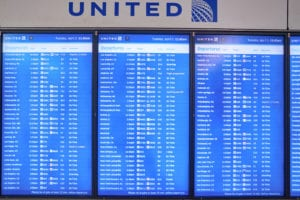 Airport Electronic Signs