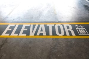 Elevator Floor Graphics