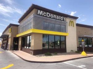 McDonald's Building Signs