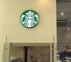 Starbucks Coffee Shop Logo