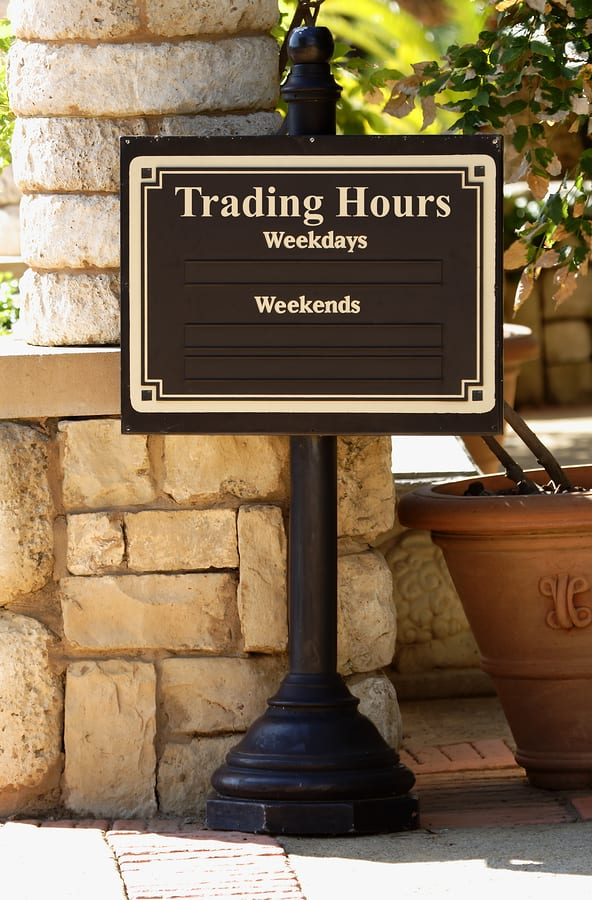 Coffee time working hours Signs